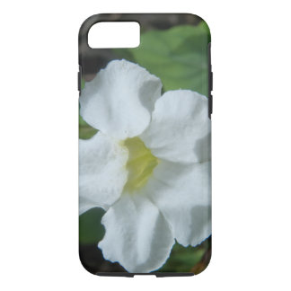 White Tropical Flower Found on Fiji iPhone 7 Case
