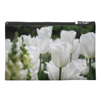white tulip garden travel accessories bags