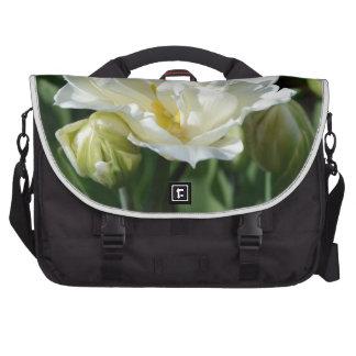 White Tulip Laptop Messenger Bag