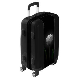 White Tulip Luggage Suitcase