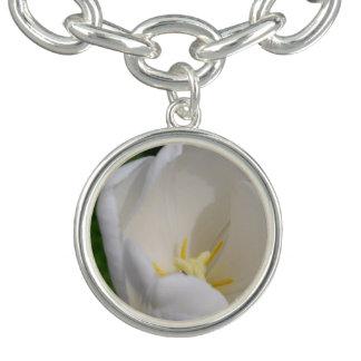White Tulip Bracelet