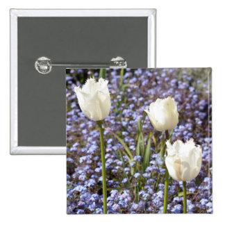 White Tulips Pins