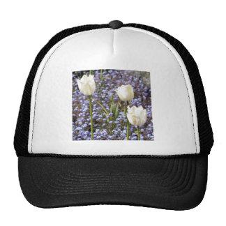 White Tulips Cap