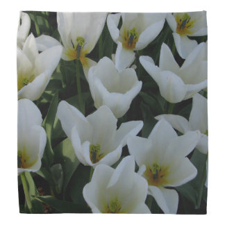 White Tulips Do-rags