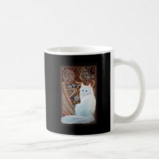White Turkish Angora Coffee Mug