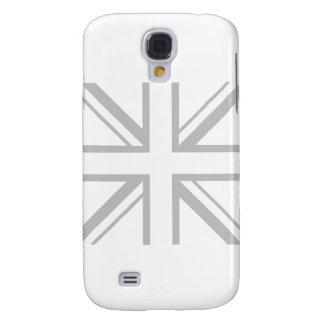 White Union Jack Samsung Galaxy S4 Cover