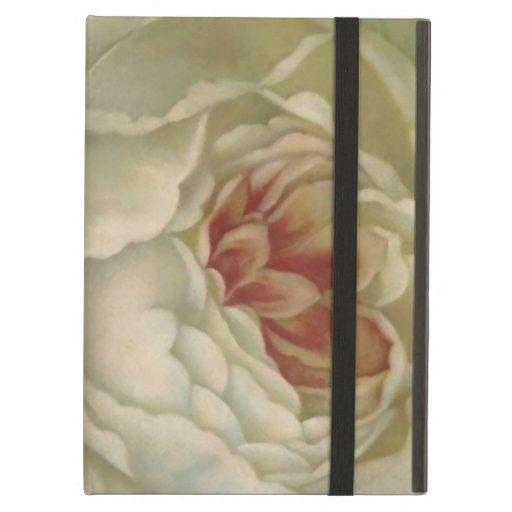 White Victorian Rose iPad Case/Cover 2/3/4