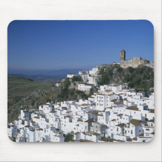 White Village of Casares, Andalusia, Spain 2 Mouse Mat