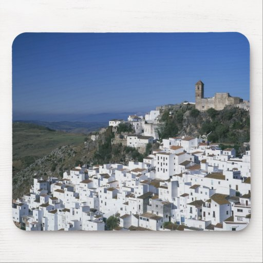 White Village of Casares, Andalusia, Spain 2 Mouse Pads