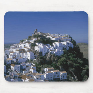White Village of Casares, Andalusia, Spain Mouse Mat