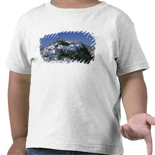 White Village of Casares, Andalusia, Spain Tee Shirt