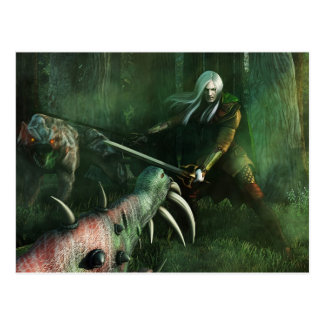 White Warrior Postcard