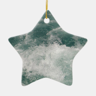 White Water Christmas Ornament