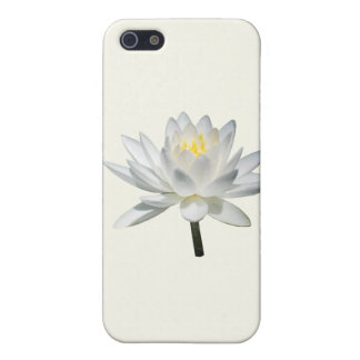 White Water Lily in Sunshine Cases For iPhone 5