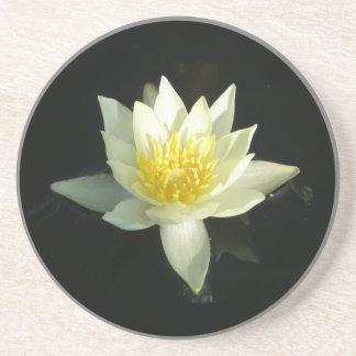 White Water Lily/Lotus Beverage Coaster