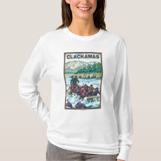 White Water Rafting - Clackamas, Oregon T-Shirt