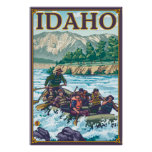 White Water Rafting - Idaho Posters