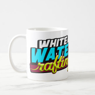 White Water Rafting Classic White Coffee Mug