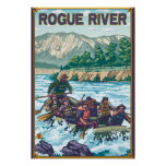 White Water Rafting - Rogue River, Oregon Posters