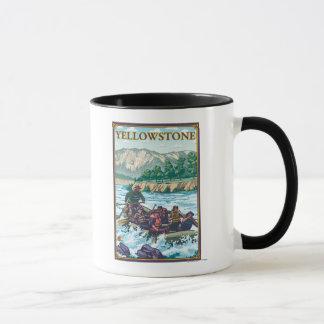 White Water Rafting - Yellowstone National Park Mug
