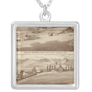 White Water, Saucelito ranches Silver Plated Necklace