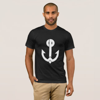 White WCP Anchor Logo T-Shirt