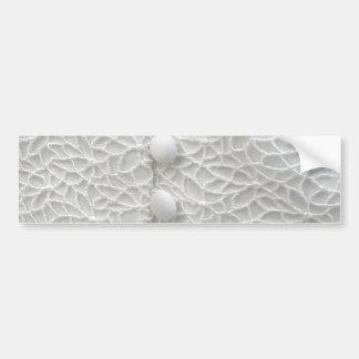 White Wedding Gown I Bumper Sticker - Customizable Car Bumper Sticker