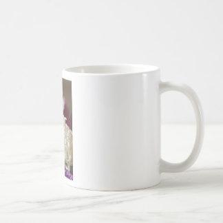 White Wedding Roses Coffee Mug