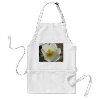 White White Tulip Apron