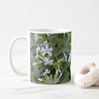 White Wildflowers Coffee Mug