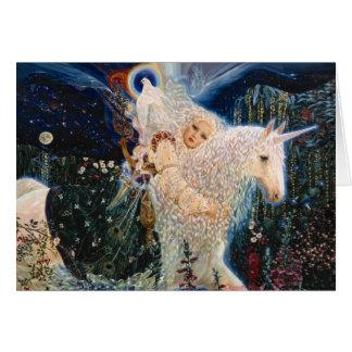 White Wind - Messenger of Love by Elizabeth Kyle. Card