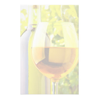 White Wine And Grapes Stationery