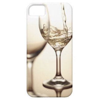 White Wine Being Poured Into Glass iPhone 5 Cases