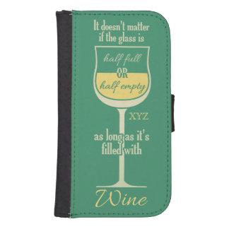 White Wine Glass custom monogram cases
