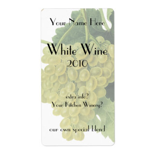 White Wine Grapes on the Vine, Vintage Food Fruit