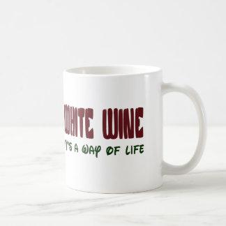 White wine It's a way of life Coffee Mug