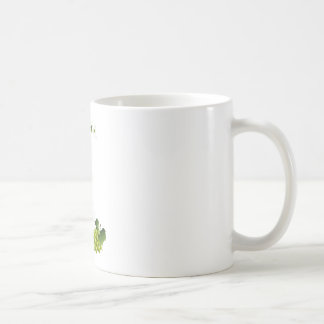White wine still life basic white mug