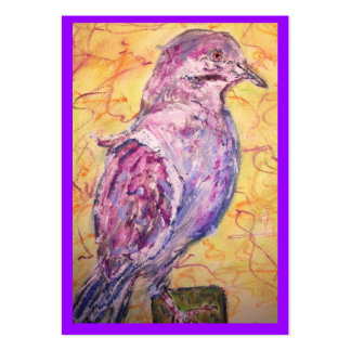 White-winged Dove art Pack Of Chubby Business Cards