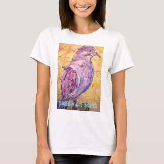 White-winged Dove peace on earth T-Shirt