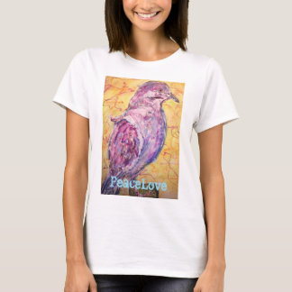 White-winged Dove PeaceLove T-Shirt