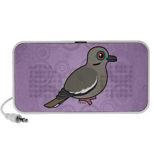 White-winged Dove Mp3 Speaker