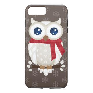 White Winter Owl iPhone 8 Plus/7 Plus Case