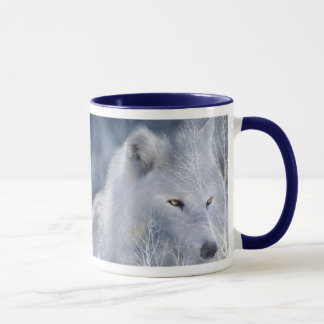 White Wolf Art Mug