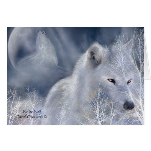 White Wolf ArtCard Cards
