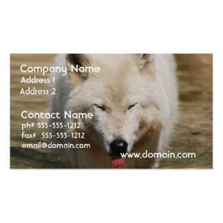 White Wolf Double-Sided Standard Business Cards (Pack Of 100)