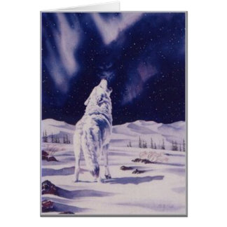 White Wolf card