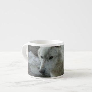 White Wolf Espresso Mug