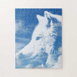 White Wolf Jigsaw Puzzle