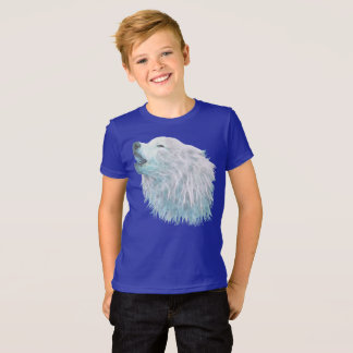 White Wolf Kid's Jersey T-shirt