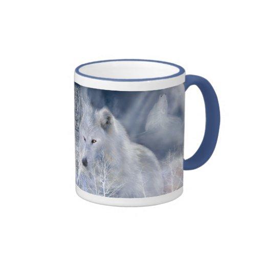 White Wolf Mug